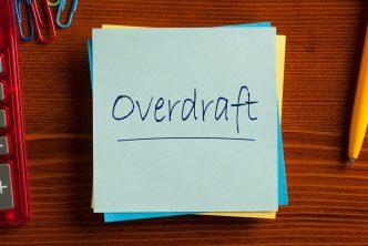 Overdraft Finance Concept